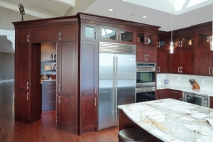 Kitchen of a private residence in White Rock, BC, Canada